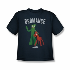 Gumby Shirt Kids Bromance Navy T-Shirt