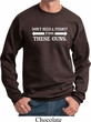 Guns Permit Sweatshirt