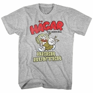 Hagar The Horrible Shirt Beer Hunter Athletic Hunter T-Shirt