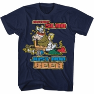Hagar The Horrible Shirt Instant Slob Navy Blue T-Shirt