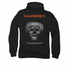 Half Baked Hoodie Sweatshirt Pumpkin Poster Black Adult Hoody Sweat Shirt