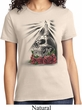 Halloween Day of the Dead Candle Skull Ladies Shirt