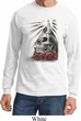 Halloween Day of the Dead Candle Skull Long Sleeve Shirt