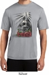 Halloween Day of the Dead Candle Skull Mens Moisture Wicking Shirt