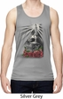 Halloween Day of the Dead Candle Skull Mens Moisture Wicking Tanktop