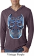Halloween Glass Skull Lightweight Hoodie Shirt