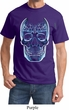 Halloween Glass Skull Shirt