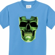 Halloween Glow Bones Kids Shirt