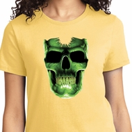 Halloween Glow Bones Ladies Shirt