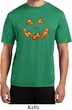 Halloween Jack O Lantern Skull Mens Moisture Wicking Shirt