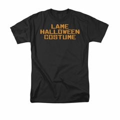 Halloween Shirt Lame Costume Black T-Shirt