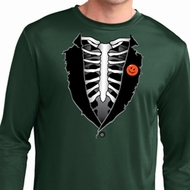 Halloween Tuxedo Dry Wicking Long Sleeve