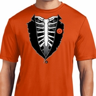 Halloween Tuxedo Mens Dry Wicking T-shirt