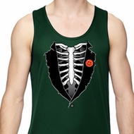 Halloween Tuxedo Mens Dry Wicking Tank Top