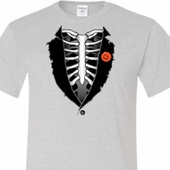 Halloween Tuxedo Mens Tall T-shirt