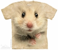 Hamster Face Shirt Tie Dye Adult T-Shirt Tee