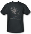 Happy Days T-shirt - Cool Fonz Adult Charcoal Shirt