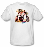 Happy Days T-shirt - No Cardigans Adult White Tee Shirt