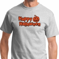Happy Halloween with Pumpkin Mens Shirts