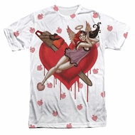 Harley Quinn Shirt Chainsaw Sublimation Shirt