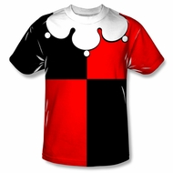 Harley Quinn Shirt Costume Sublimation Shirt