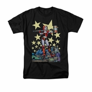 Harley Quinn Shirt Hammer Time Black T-Shirt