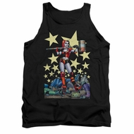 Harley Quinn Shirt Tank Top Hammer Time Black Tanktop