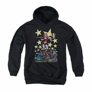 Harley Quinn Youth Hoodie Hammer Time Black Kids Hoody