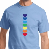Heart Chakras Mens Yoga Shirts