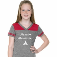 Heavily Meditated Girls Football Shirt