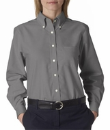 High Quality Ladies' Classic Wrinkle Free Long Sleeve Oxford