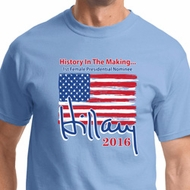 Hillary Clinton First Female President Mens Shirts