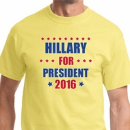 Hillary Clinton For President 2016 Mens Shirts