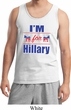 Hillary Clinton Tank Top I'm For Hillary Mens Tanktop