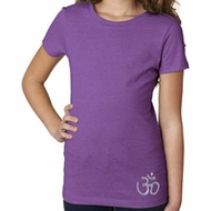 Hindu Patch Bottom Print Girls Yoga Shirts