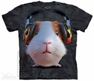 Hip Guinea Pig Shirt Tie Dye Adult T-Shirt Tee