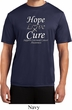 Hope Love Cure Carcinoid Cancer Dry Wicking T-shirt