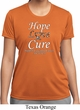 Hope Love Cure Carcinoid Cancer Ladies Dry Wicking T-shirt
