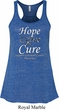 Hope Love Cure Carcinoid Cancer Ladies Flowy Racerback