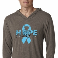 Hope Prostate Cancer Lightweight Hoodie Shirt