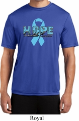 Hope Prostate Cancer Mens Moisture Wicking Shirt