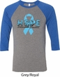 Hope Prostate Cancer Mens Raglan Shirt