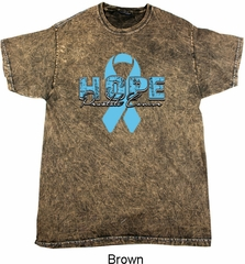 Hope Prostate Cancer Mineral Tie Dye Shirt