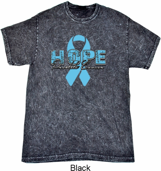 Hope Prostate Cancer Mineral Tie Dye Shirt Hope Prostate