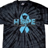 Hope Prostate Cancer Spider Tie Dye Shirt