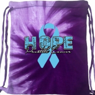 Hope Prostate Cancer Tie Dye Bag