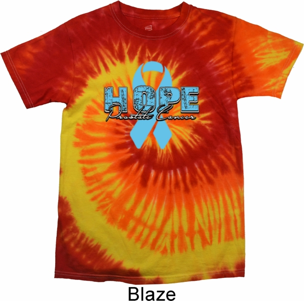 Hope Prostate Cancer Tie Dye Shirt Hope Prostate Cancer