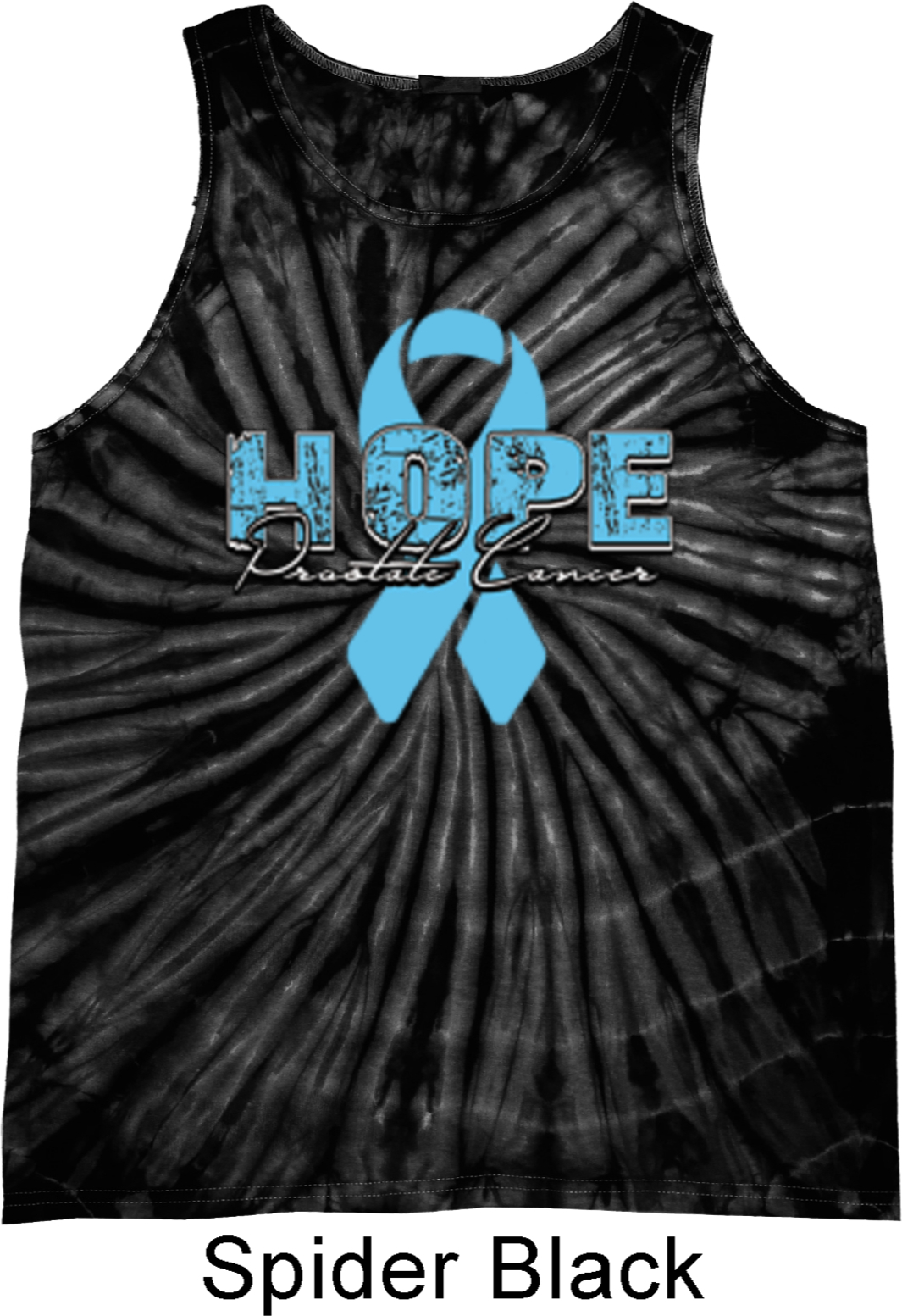 Hope Prostate Cancer Tie Dye Tank Top Hope Prostate