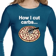 How I Cut Carbs Ladies Long Sleeve Thermal Shirt