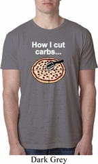 How I Cut Carbs Mens Burnout Shirt